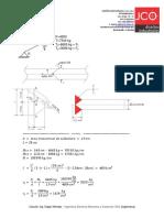 Calculos Cable Auxiliar Rascador