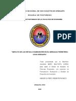Impacto Retails en El Mercado Ferretero