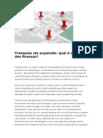 Neves - Franquias Em Expansão, Qual é o Papel Das Finanças