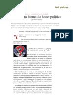 Hacia Otra Forma de Hacer Política, Por Frank Bracho