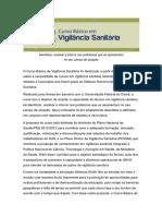 Curso Básico Em Vigilância Sanitária _CBVS