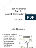 5. Postulat, Prinsip, Dan Konsep