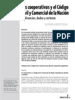 Las Cooperativas y El CCyCN