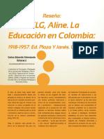 HELG, Aline. La Educación en Colombia