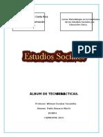 Álbum de Técnicas  UCR COSTA RICA metodologia de los estudios sociales
