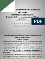 14 VIII Estrato Ligados Hydrothermal Ore Deposits