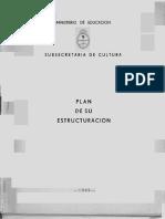 Subsecretaria de Cultura-creación 1948