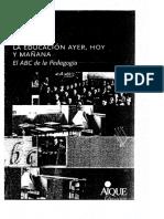 Gvirtz Silvina - La Educacion Ayer Hoy Y Mañana - El a B C de La Pedagogia_cropped