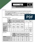 Ficha Técnica Modelo