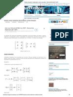 Matrizes_ Adição, Subtração, Multiplicação e Outras Operações