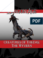 Dragon Age RPG, DLC - Creatures of Thedas - The Wyvern