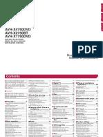 Operating Manual Avh-x2750bt