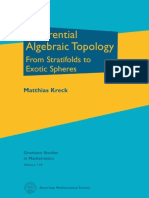 (Graduate Studies in Mathematics 110) Matthias Kreck-Differential Algebraic Topology_ From Stratifolds to Exotic Spheres-American Mathematical Society (2010)