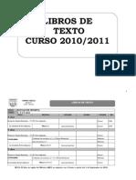 Libros de Textos 2010.11 Infoblog