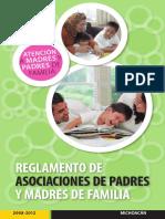 5. Reglamento de La Asociación de Padres de Familia