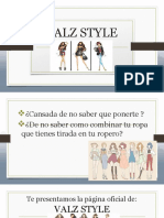 Texto Promocional - ValzStyle