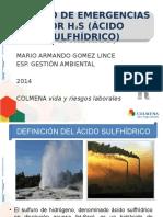 Manejo de Emergencias Por h2s (Arl Colmena)