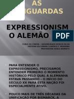 AS VANGUARDAS - EXPRESSIONISMO ALEMÃO (2)