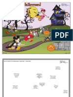 LitArt JPR . .Mickey Mouse Halloween Count Down Calendar Printable 0810