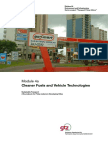 Cleaner Fuels and Vehicle Technologies