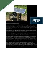 Introducción Al Bombeo Solar