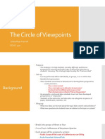 educ 464 - circle of viewpoints