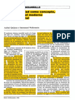 Quijano-wallerstein La Americanidad Como Concepto