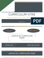 Grupo 7. Currículum Vitae.