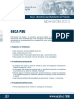 Normativa Beca Psu (Dcto Marco 2013)