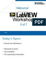 LabVIEW Workshop Presentation