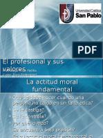 El Profesional y Sus Valores