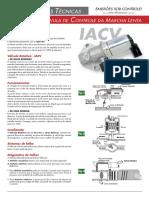 Prueba Valvula de Control de Marcha Lenta IACV