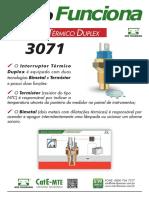 MTE Interruptor Termico Duplex 3071