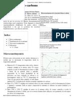 Diagrama Hierro-carbono - Wikipedia, La Enciclopedia Libre