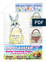 2017 Easter coloring pages