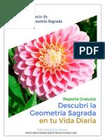Reporte Gratuito Descubri La Geometria Sagrada en Tu Vida Diaria