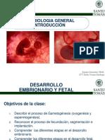 Embriologia general 2017
