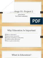 project 2 education