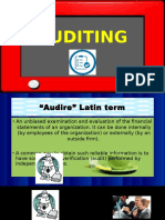 Auditing Fiscal Documents Report Ppt