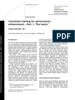 Functional Training for Performance Enhancement
