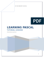 Learning Pascal3