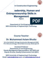 P1 of LHE Skills in Management
