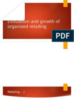 Evoulation and Growth of Organized Retailing(Jitu)