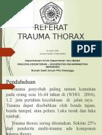 Trauma Thorax terbaru