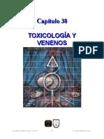 38 Toxicología y Venenos
