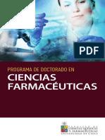 Doctorado Ciencias Farmaceuticas