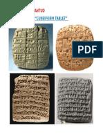 Cuneiform Tablet Pictures