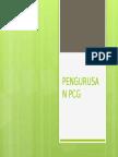 PENGURUSAN PCG