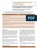 SIMULATION MODEL OF ORGANIZATIONAL CHANGE FOR ENVIRONMENTAL ENGINEERING CENTER CAMAGUEY