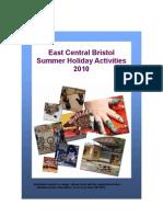 EC Summer Holiday Activities 2